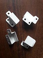 Крепления для наружной москитной сетки металлические (уголки, они же кармашки)