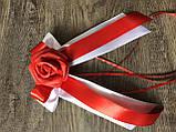 Цветы на ручки свадебной машины, фото 2