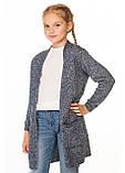 Кардиган вязанный для девочек Селена (7-12 лет), фото 10
