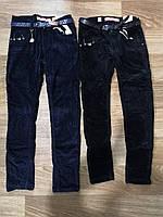 Вельветовые брюки утепленные для девочек оптом, Seagull, 134-164 см,  № CSQ-89722, фото 1