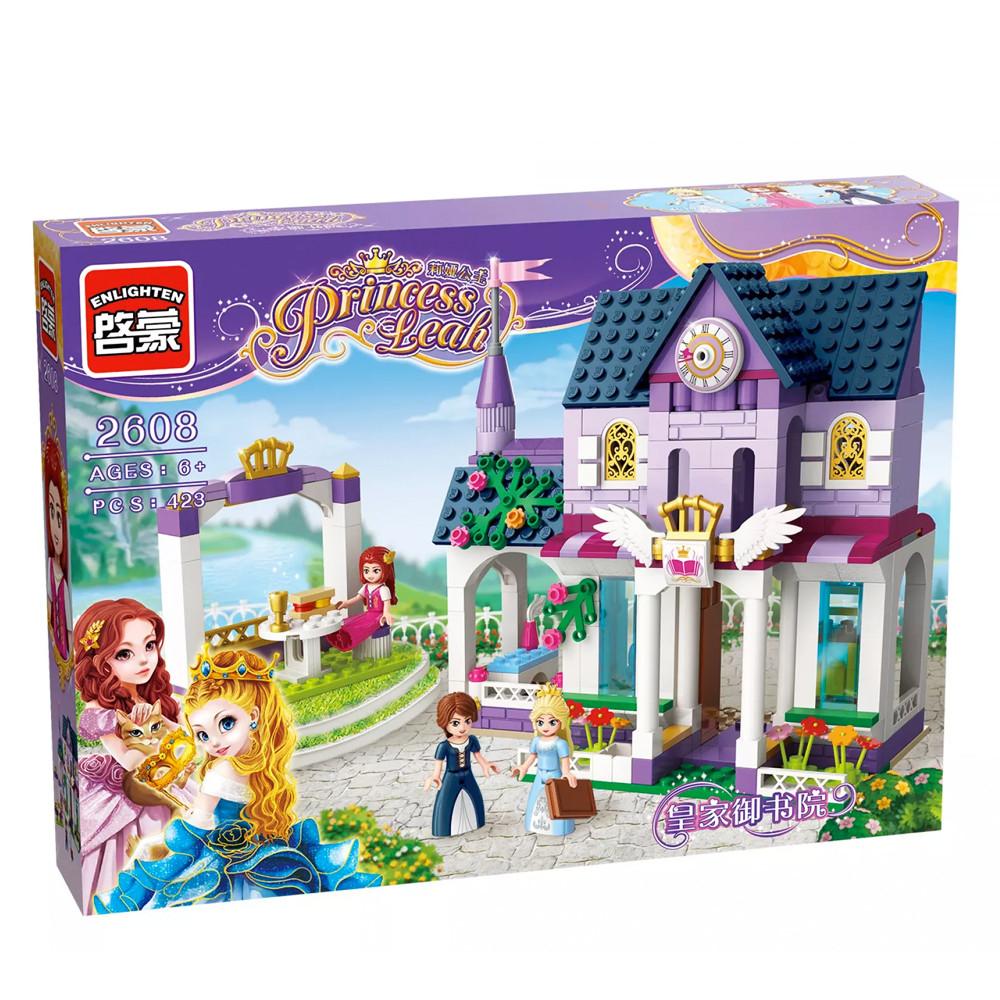 """Конструктор Enlighten Brick 2608 Princess Leah """"Королевская библиотека"""", 423 дет"""