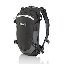 Велорюкзак XLC BA-S83, черно-серого цвета / Рюкзак спортивный 15л