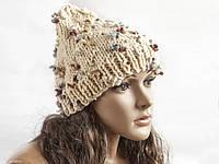 Шапка, женская вязаная шапка, Unisex, HandMade шапка, модная стильная шапка, фото 1