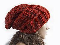 Шапка, женская вязаная шапка, мужская шапка, Unisex, HandMade шапка, модная стильная шапка, шапка носок, фото 1