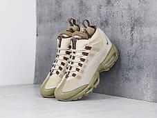 "Зимние кроссовки Nike Air Max 95 Sneakerboot ""Beige"" (Бежевые), фото 3"