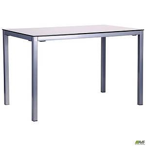 Стол обеденный Родос DT-101 серый/стекло антрацит