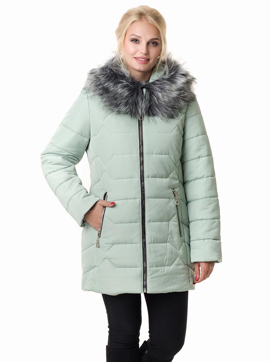 Женская зимняя куртка Irvik Z40100 светло серый