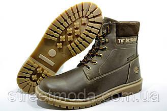 Зимние мужские ботинки в стиле Timberland