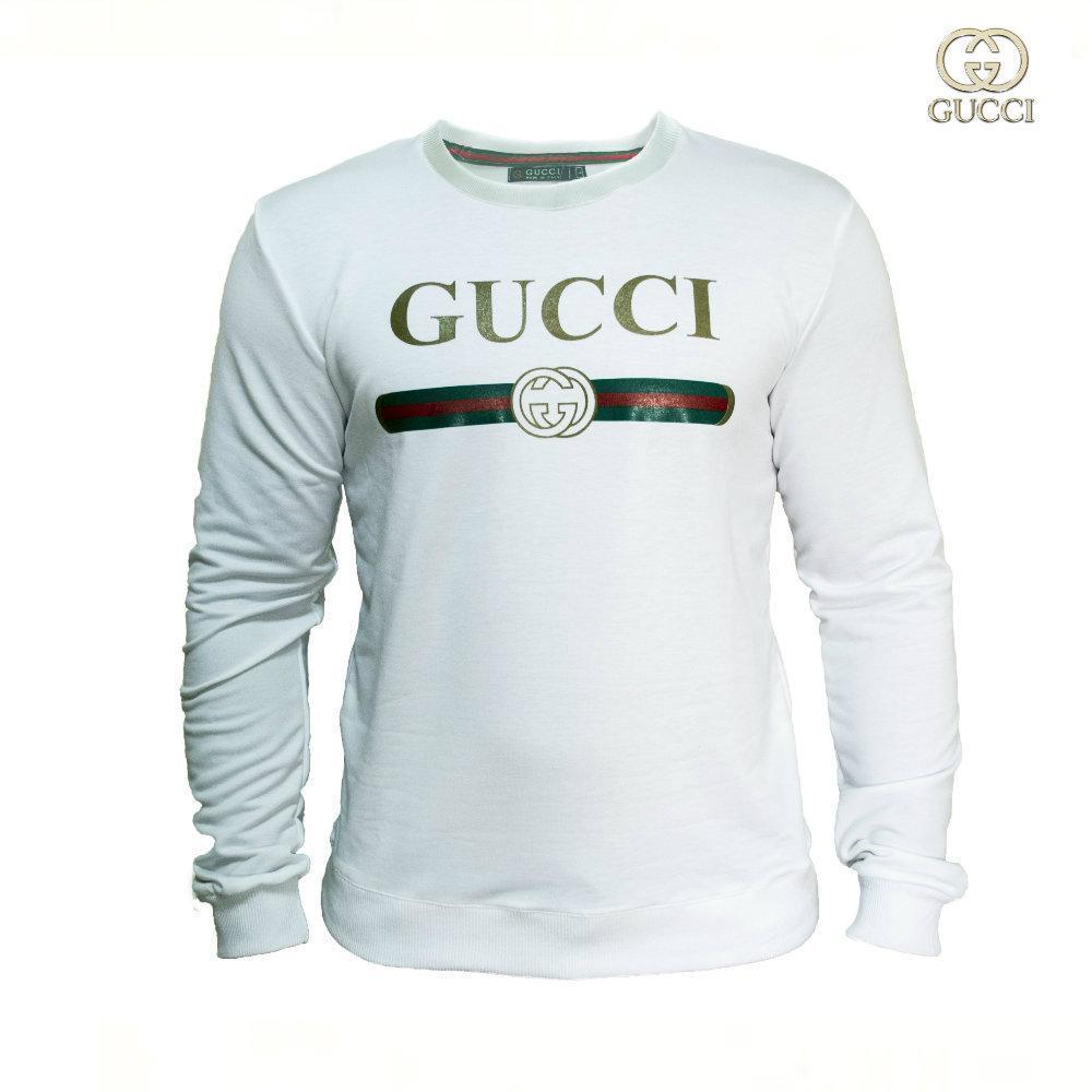 Мужской Cвитшот. Реплика Gucci. Мужская одежда