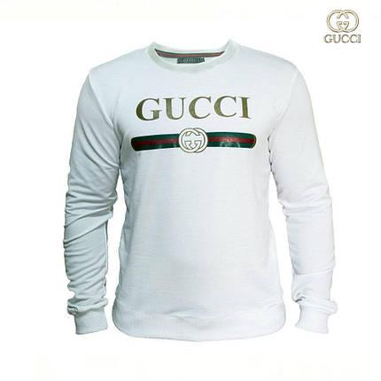 Мужской Cвитшот. Реплика Gucci. Мужская одежда, фото 2