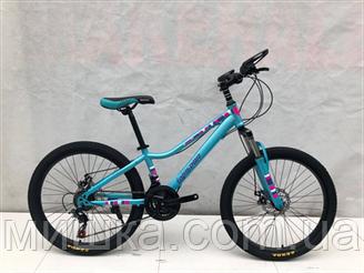 """Велосипед TopRider 900 26"""" подростковый аква"""
