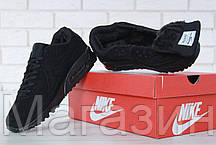 27c47355 Мужские зимние кроссовки Nike Air Max 90 VT Tweed Black замшевые Найк Аир  Макс 90 С