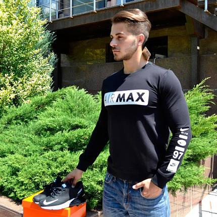 Мужской Свитшот. Реплика NIKE AIRMAX. Мужская одежда, фото 2