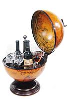 Глобус бар настольный 360 мм коричневый 36002 R