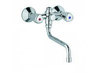 Смеситель для ванны и душа KLUDI STANDARD с поворотным изливом 300 мм