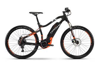 """Горный электро велосипед Haibike SDURO HardSeven 2.0 27,5"""" 400Wh, рама 45см, 2018 черного цвета"""