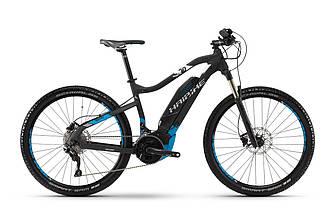 """Горный электро велосипед Haibike SDURO HardSeven 5.0 27,5"""" 500Wh, рама 45см, 2018 черного цвета"""