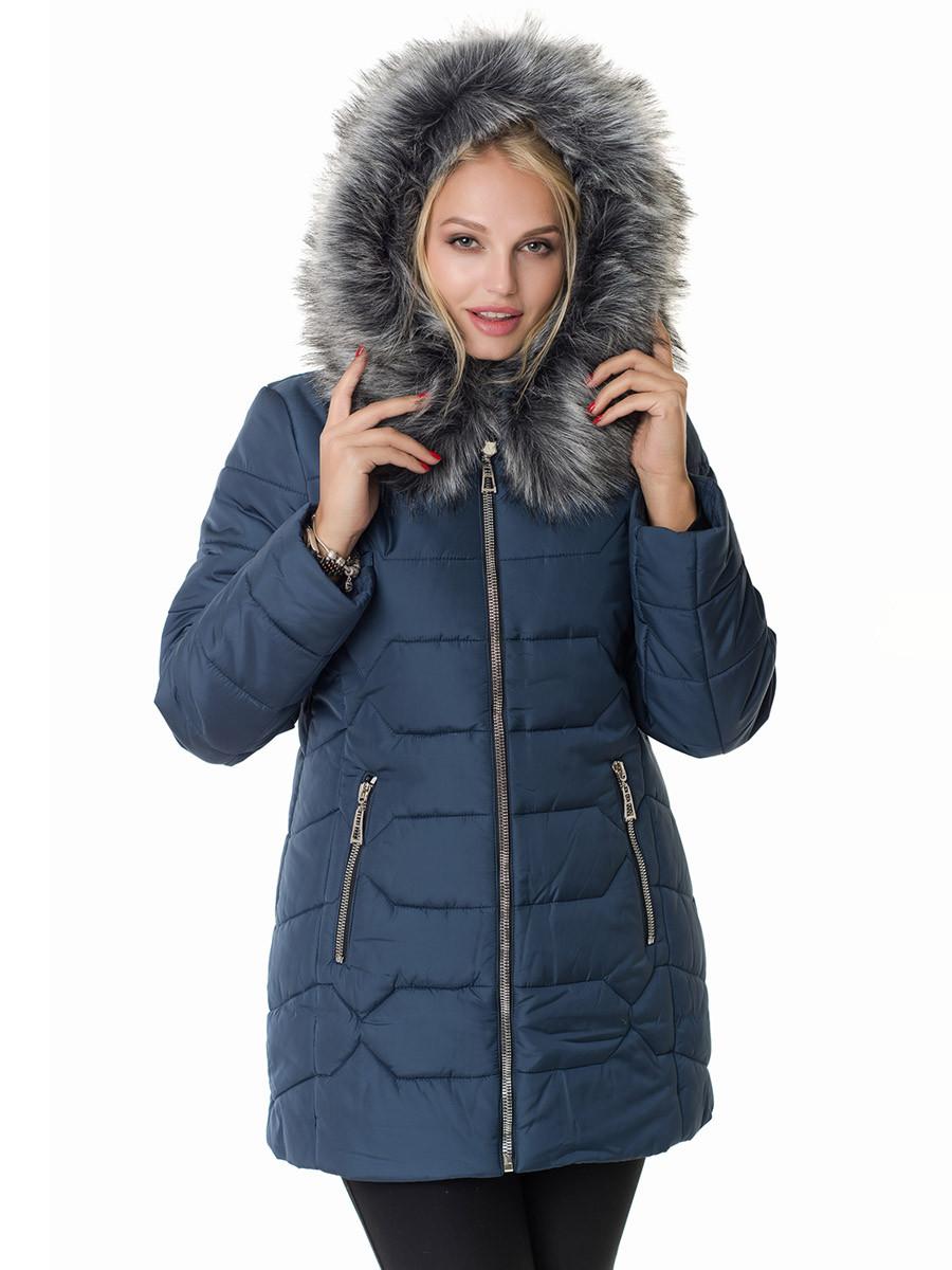Женская зимняя куртка Irvik Z40120 синий