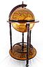 Глобус бар напольный на 3-х ножках 360 мм коричневый 36001 R