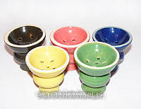 Чаша для кальяна керамическая (цвета разные)