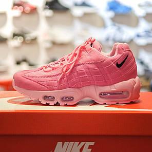 "Кроссовки Nike Air Max 95 ""Pink"" (Розовые), фото 2"