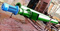 Шнековый погрузчик для цемента 108мм, 4т/час, 1,5кВт, 3м