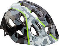 Шлем детский Cannondale QUICK CAMO размер S 52-57см BLKGRY