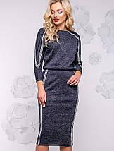 Женское платье-миди летучая мышь из ангоры (2925-2923-2928-2926-2924 svt), фото 2