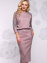 Женское платье-миди летучая мышь из ангоры (2925-2923-2928-2926-2924 svt), фото 3