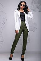 Женский деловой брючный костюм КТ-332