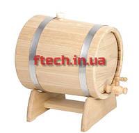 Жбан (бочка) дубовый для напитков 10 лтр., фото 1