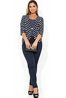 Женский костюм тройка — жакет, юбка и брюки размеры от XL 4330