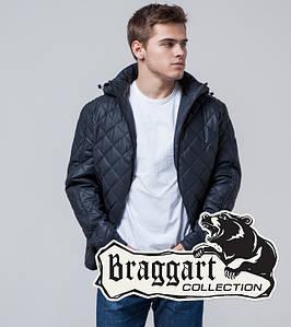 Осенняя молодежная куртка 2072 темно-синяя