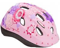 Шлем детский Cannondale QUICK FLOWERS размер S  52-57см purple-pink