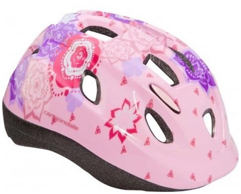 Шлем детский Cannondale QUICK FLOWERS размер XS 48-54см purple-pink