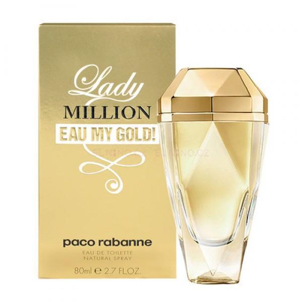 Paco Rabanne Lady Million Eau My Gold edt 80ml (лиц.)