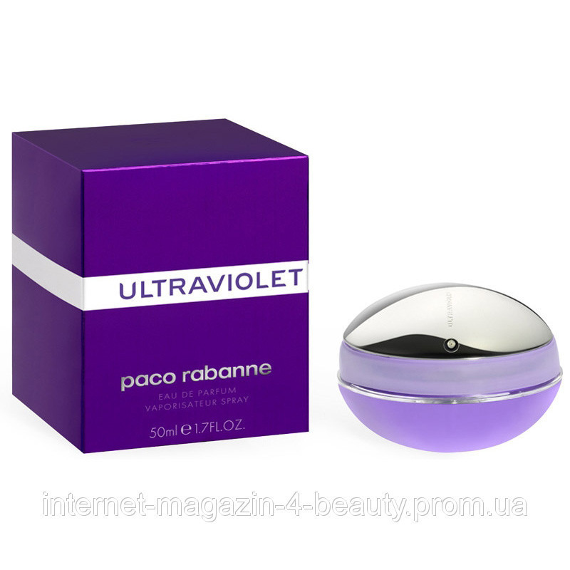 Paco Rabanne Ultraviolet EDP 80 ml (лиц.)