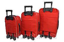 Чемодан Siker Lux (средний) красный, фото 2