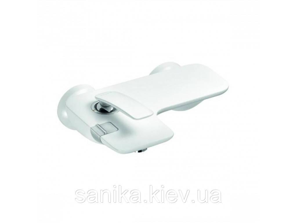 Смеситель для ванны и душа KLUDI BALANCE, однорычажный, белый