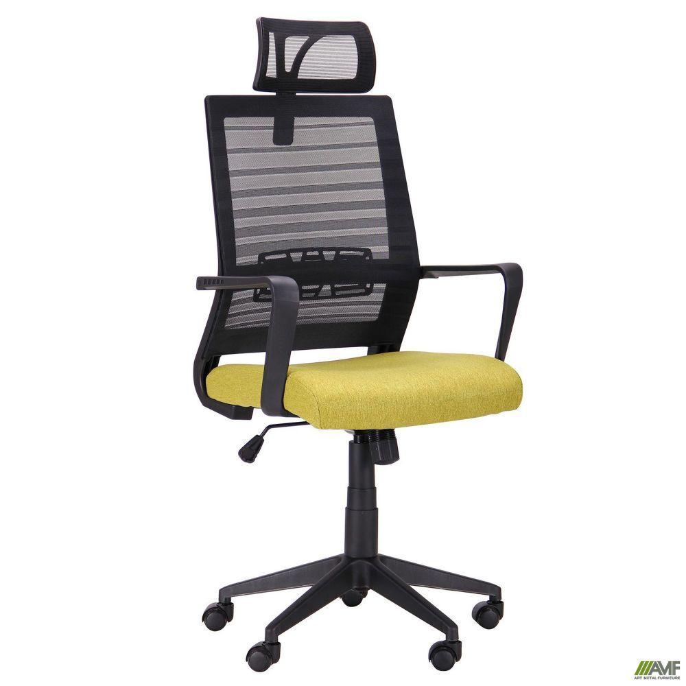 Кресло Radon черный/оливковый
