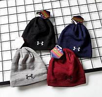 Зимние шапки UNDER ARMOUR Новая модель 2018 года Основные цвета Классический вид Код: КГ6335