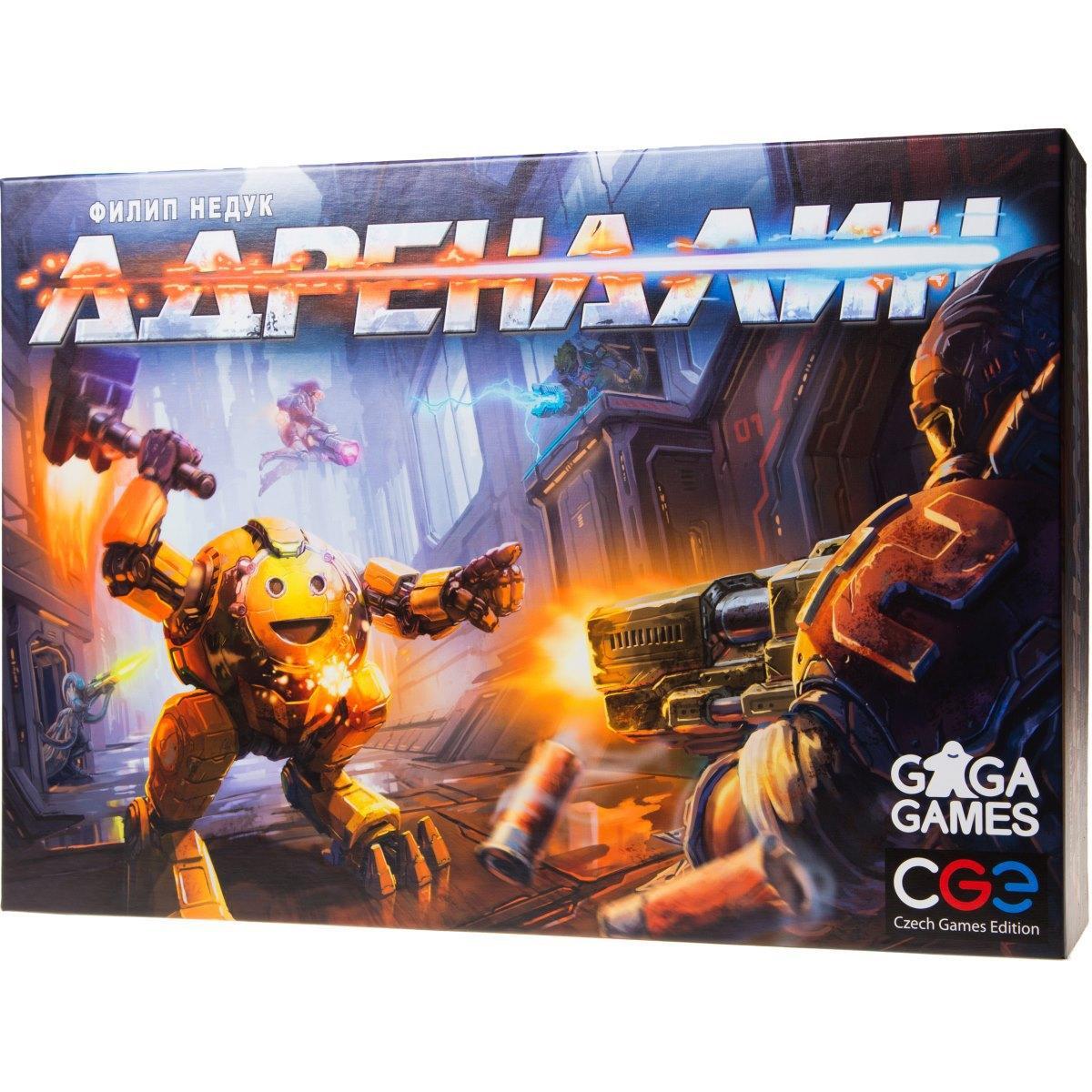Настольная Игра GaGa Адреналин (4627093191093)