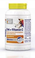 Биологически активная добавка Omni VIT Zink + Vitamin C, 100 st.