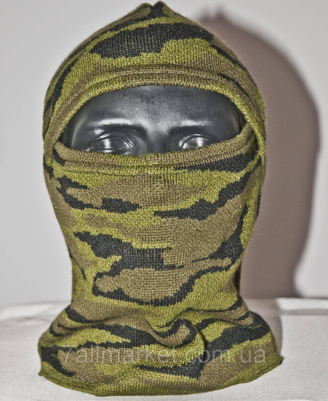 """Маска-балаклава мужская вязаная камуфляж размер универсальный """"VOENTORG"""" купить оптом в Одессе на 7км"""