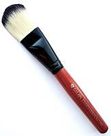 Кисть для тонального крема натуральная Salon Professional 703