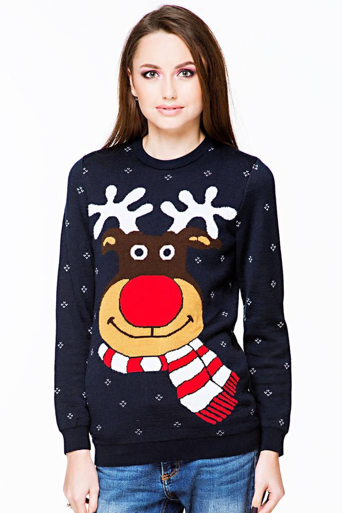Жіночий в'язаний светр (75)