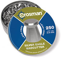 Пульки Crosman Lead free Silver Eagle 4.5мм (250 шт.) (LF177WC)