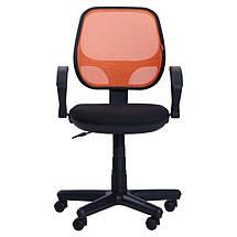 Кресло Чат/АМФ-4 сиденье А-1/спинка Сетка оранжевая, фото 3