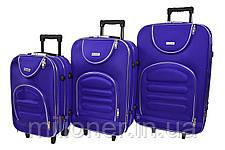 Чемодан Siker Lux (средний) фиолетовый, фото 3