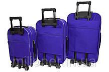 Чемодан Siker Lux (средний) фиолетовый, фото 2